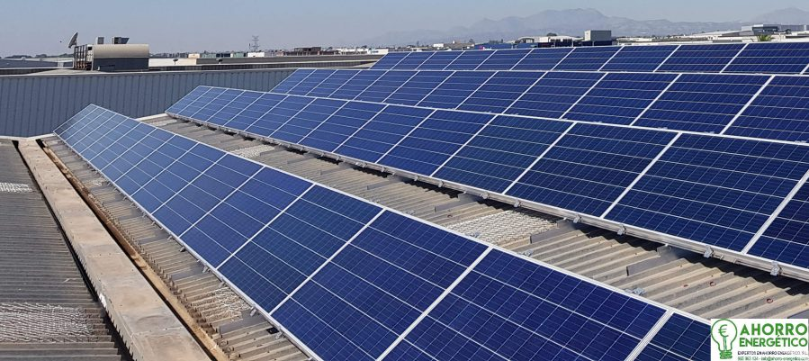 Tejado paneles solares